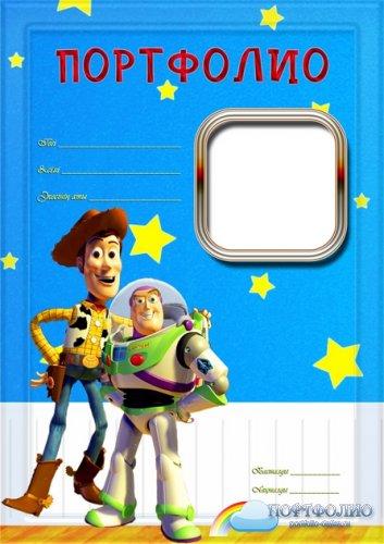 Портфолио для мальчика История игрушек на казахском языке
